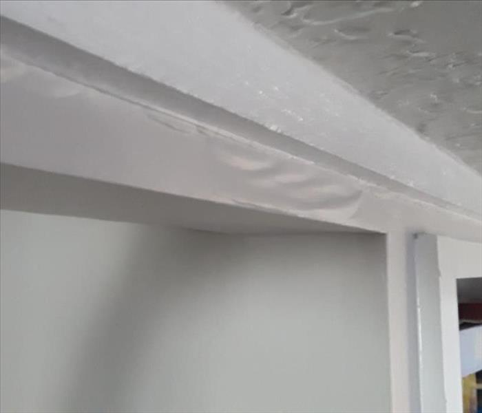 Damaged Ceiling by flooding in Houston